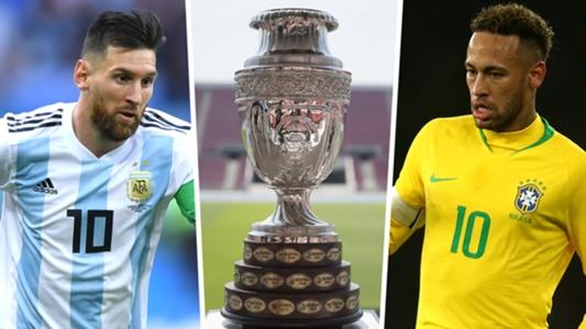 Brazil là đội bóng ứng cử viên vô địch Copa America
