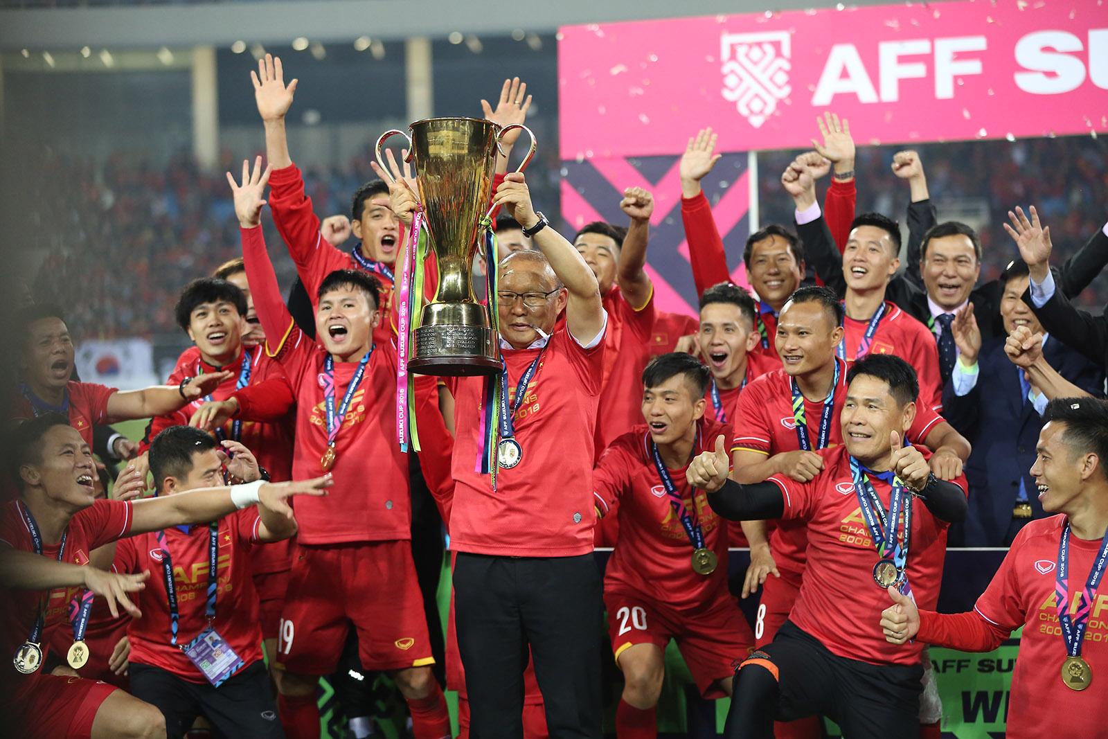 ĐTVN đăng quang ngôi vô địch tại AFF Cup 2018.